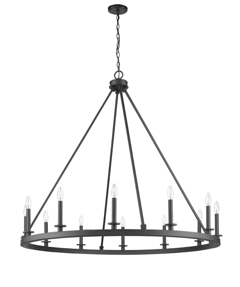 Ironworks Chandelier Cfc Lighting